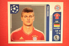 PANINI CHAMPIONS LEAGUE 2011/12 N. 14 KROOS BAYER WITH BACK BLACK MINT!!