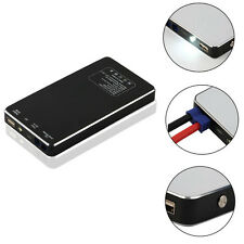 LED 8000mAh Portable Car Jump Starter Pack Booster Charger Battery Power Bank US