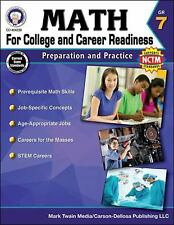 Math for College and Career Readiness, Grade 7 : Preparation and Practice by...