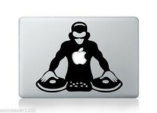 DJ Apple Macbook Pro Air Retina 13 Mac Sticker Decal Skin Vinyl Cover For Laptop