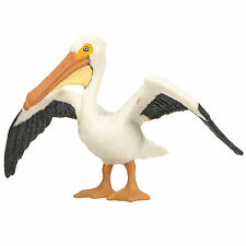 White Pelican Wings Of The World Birds Figure Safari Ltd NEW Toys Educational
