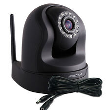 Foscam FI9826P Plug and Play x3 Zoom 960P 1.3MP HD IP Camera PTZ CCTV Black