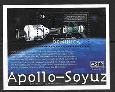 DOMINICA SGMS2846 2000 APOLLO-SOYUZ  MNH