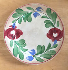 George Jones & Sons Small Bread Plate Adams Rose Stick Spatter England