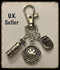 Firefighters Keyring