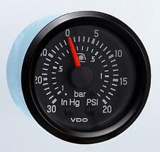 VDO Cockpit Turbo Boost Gauge 150-921 20 PSI