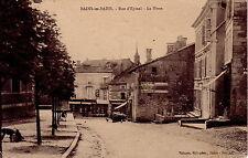 VOSGES - BAINS-LES-BAINS - RUE D'EPINAL - LA POSTE - CARTE DATEE DE 1914.