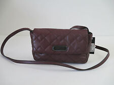 NEW Marc Jacobs Quilted Cardamom Leather Small Crossbody Shoulder Handbag Purse