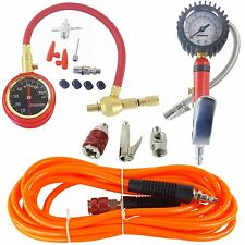 Pump Up Tire Inflation Kit Air Hose, Inflator, Deflator & Fittings 4x4 Offroad
