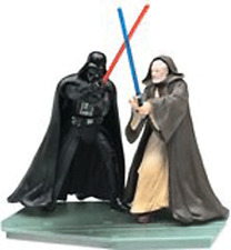 "Star Wars Power of the Jedi Silver Anniversary Final Duel 3.75"" Action Figures"
