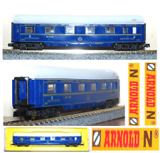 ARNOLD 0347 VINTAGE '85 CARROZZA CIWL con LETTI SLEEPING-CAR N.4776 BOX  SCALA-N