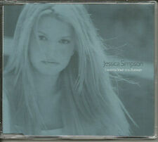 JESSICA SIMPSON & SOUL SOLUTION I wanna Love MIXES UK CD single SEALED & POSTER