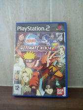 NARUTO ULTIMATE NINJA 2 PLAYSTATION 2 PS2 GAME