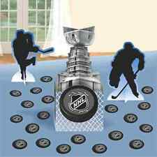 NHL Ice Time National Hockey League Sports Birthday Party Table Decorating Kit