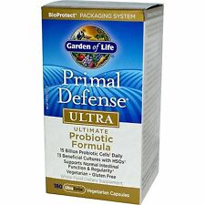 Garden of Life Primal Defense Ultra 180 Capsules Ultimate Probiotic Formula 13