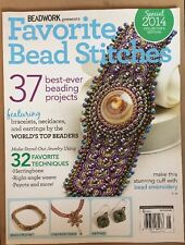 Favorite Bead Stitches Best Projects Techniques Chain Special 2014 FREE SHIPPING
