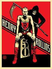 HENRY ROLLINS & THE GRIM REAPER POSTER