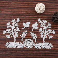 Willow & Leaves Metal Cutting Stencil For Scrapbooking Paper Cards Gift Decor