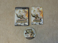 Dynasty Warriors 5: Empires (Sony PlayStation 2, 2006) COMPLETE...