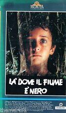 Là dove il fiume è nero (1986) VHS 1a Ed. MGM  - Christopher Cain Peter Horton