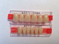 Accutone Anterior Upper And Lower Set, Shade 67,Model 137Acrylic False Teeth
