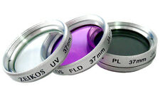 UV Polarizer & FLD Filter Kit (3Pc)For Panasonic Lumix DMC-LX7K DMC-LX7W DMC-LX7