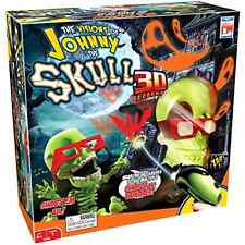 Johnny The Skull 3D Game Spooky Action Shoot Ghost Bats Special Glasses 3 Levels
