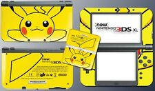 Pikachu Special Edition Yellow Video Game Decal Skin New Nintendo 3DS XL