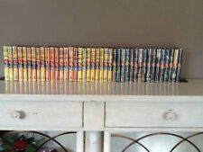 100% CLEAN CRISP COMPLETE SET/LOT HARDY BOYS BOOKS & FAUX DJ (YELLOW OR WRAP)