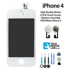 NEW Replacement FOR iPhone 4 All Models LCD & Digitiser Screen Assembly - WHITE