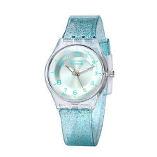 1212Sale Newyork Army Turquiose Transparent Shimmer Women's Watch - NYA1313