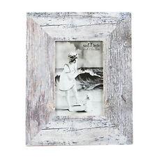 Coastal chic legno anticato con Cornice Foto Rettangolo Grigio Bianco 6 x 4 foto