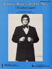 Ghost Riders in the Sky Sheet Music Piano Vocal Johnny Cash NEW 000381930
