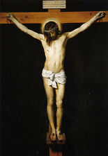 Art Oil painting Diego Velazquez - Christ Jesus Crucified on cross canvas 36""