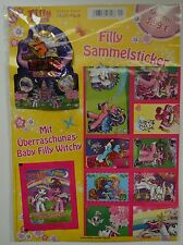 Filly Witchy Sammelsticker *Multi-Pack mit 36 Sticker + 1 Baby Filly Witchy* NEU