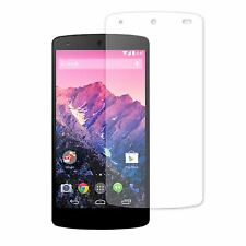 TOP QUALITY CLEAR LCD SCREEN PROTECTOR DISPLAY FILM GUARD SAVER FOR LG NEXUS 5