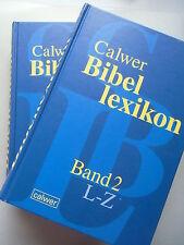 2 Bände Calwer Bibellexikon 2003 Bibel