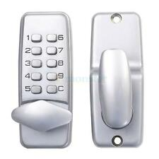 New Keyless Digital Machinery Code Keypad Password Security Entry Door Lock