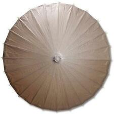 Brown Paper Wedding Party Parasol 32in D13398-3 S-3705