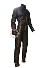 Custom Size Color Zipper Bespoke Tailor Made Leather Catsuit Brand New #2918