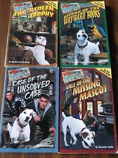 LOT 4 WISHBONE MYSTERIES BOOKS STOLEN TROPHY MISSING MASCOT UNSOLVED WAYWARD