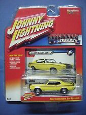 JOHNNY LIGHNING MUSCLE CARS U.S.A. #2A 1971 BUICK GSX (YELLOW)