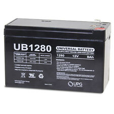 UPG UB1280ALT14-Sealed Lead Acid Batteries 12 Volts 8AH .187  UB1280  for backup