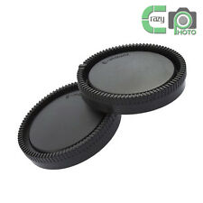 for Sony E Mount NEX Camera Rear Lens and Body Cap Set 1 Pair A6300 A6000 NEX5