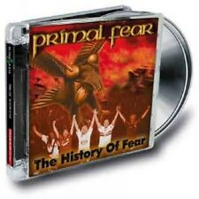 "PRIMAL FEAR ""THE HISTORY OF FEAR"" CD+DVD RE-RELEASE NEU"