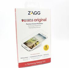 Zagg InvisibleSHIELD Original Clear Screen Protector for Samsung Galaxy S6