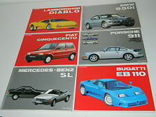 LOT 6 LIVRE la collection by AUTOMOBILIA porsche 911 MERCEDES SL bugatti PASINI