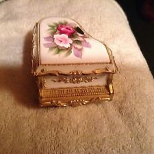 vintage san francisco porcelain music box