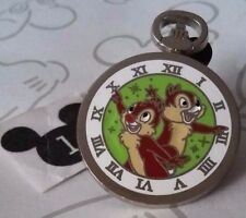 Chip n Dale Stopwatch Clock Pocket Watch PWP 2015 Mystery Disney Pin Buy 2 Save