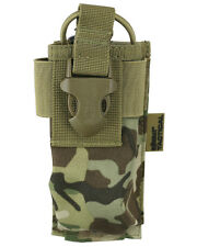 BTP / MTP CAMO ARMY STYLE MOLLE GPS Radio Pouch   size 18 x 7 x 4cm  Military